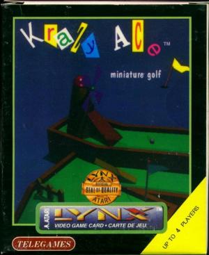 Krazy Ace Miniature Golf sur Lynx