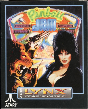 Pinball Jam sur Lynx