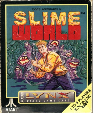 Todd's Adventures in Slime World sur Lynx