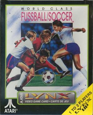 World Class Soccer sur Lynx