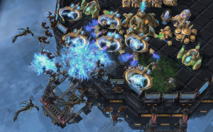 Un mode Entraînement dans Starcraft 2 : Heart of the Swarm