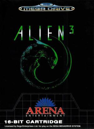 Alien 3 sur MD