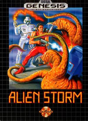 Alien Storm sur MD
