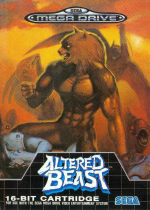 Altered Beast sur MD