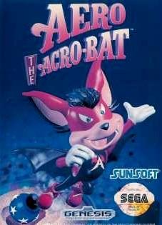 Aero the Acro-Bat sur MD