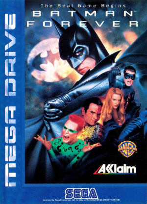 Batman Forever sur MD