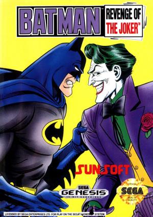 Batman : Revenge of the Joker sur MD