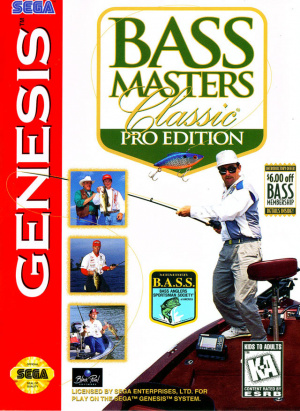 Bass Masters Classic : Pro Edition sur MD