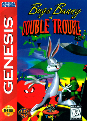 Bugs Bunny in Double Trouble sur MD