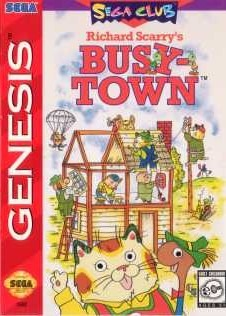 Richard Scarry's Busytown sur MD