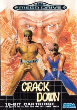 Crack Down sur MD