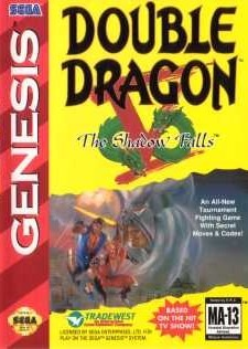 Double Dragon V : The Shadow Falls sur MD