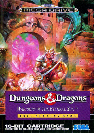 Dungeons & Dragons : Warriors of the Eternal Sun sur MD