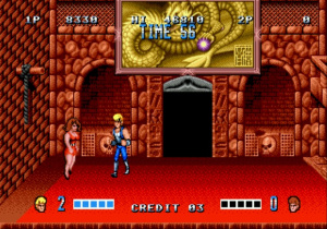 1987 - Double Dragon : Deux guerriers, de multiples possibilités