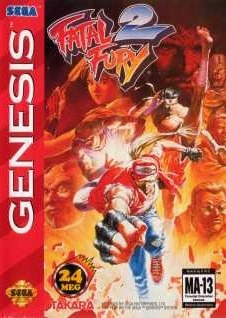 Fatal Fury 2 sur MD