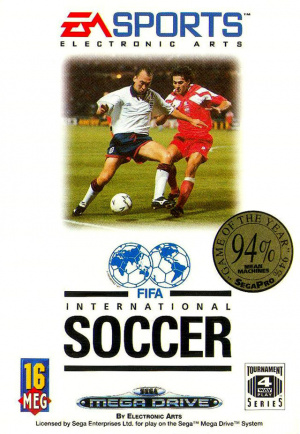 FIFA International Soccer sur MD