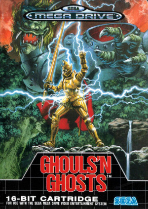 Ghouls'n Ghosts sur MD