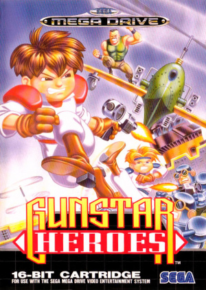 Gunstar Heroes sur MD
