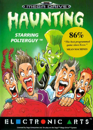 Haunting starring Polterguy sur MD