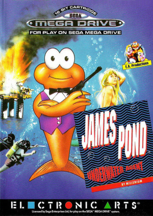 James Pond : Underwater Agent sur MD