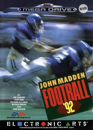 John Madden Football '92 sur MD