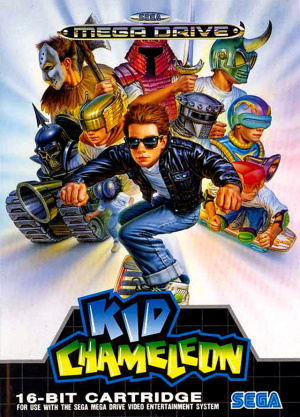 Kid Chameleon sur MD