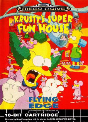 Krusty's Super Fun House sur MD