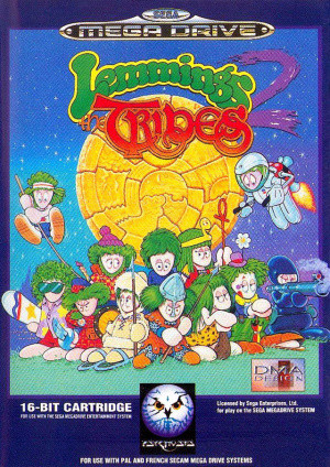 Lemmings 2 : The Tribes sur MD