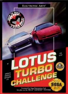 Lotus Turbo Challenge sur MD