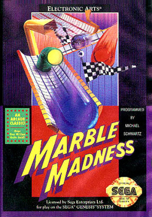 Marble Madness sur MD