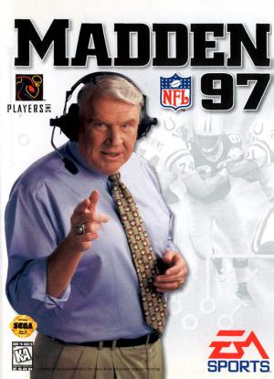 Madden NFL 97 sur MD