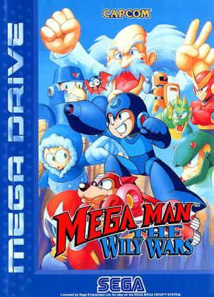 Mega Man : The Wily Wars sur MD