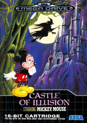 Castle of Illusion starring Mickey Mouse sur MD
