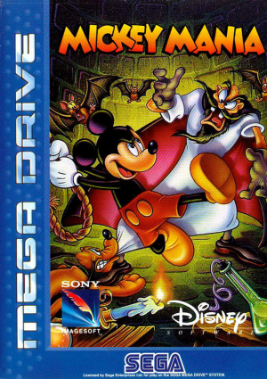 Mickey Mania : The Timeless Adventures of Mickey Mouse sur MD