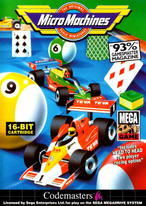 MicroMachines sur MD