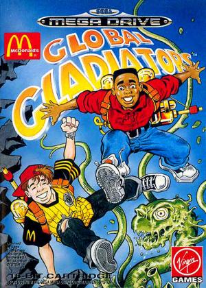 Global Gladiators sur MD
