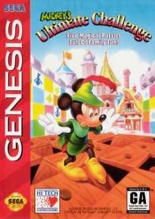 Mickey's Ultimate Challenge sur MD