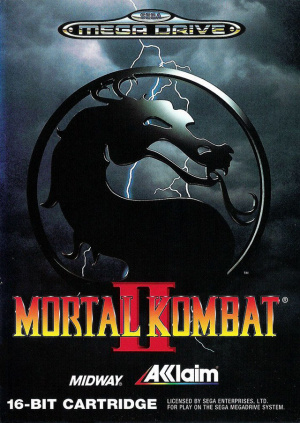 Mortal Kombat II sur MD