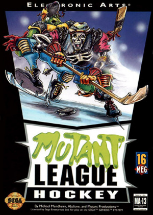 Mutant League Hockey sur MD