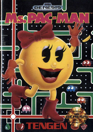 Ms. Pac-Man sur MS