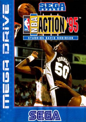 NBA Action '95 starring David Robinson sur MD