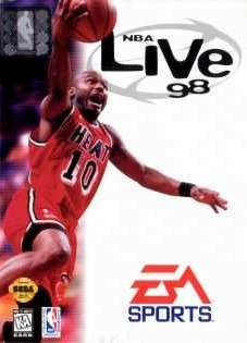 NBA Live 98 sur MD