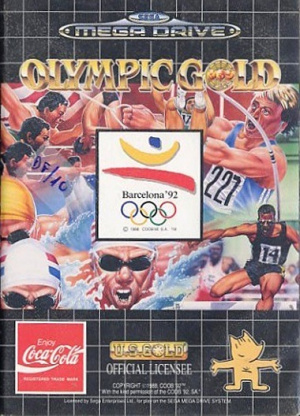 Olympic Gold : Barcelona '92 sur MD