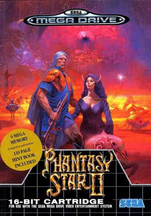 Phantasy Star II sur MD
