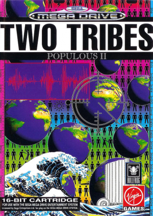 Populous II : Two Tribes sur MD
