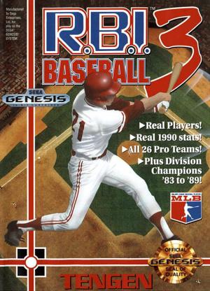 R.B.I. Baseball 3 sur MD