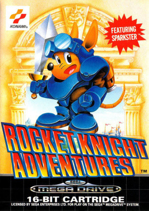 Rocket Knight Adventures sur MD