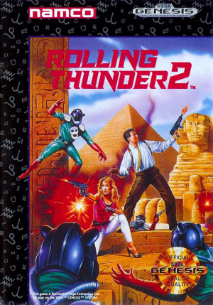 Rolling Thunder 2 sur MD