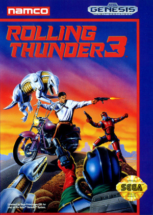 Rolling Thunder 3 sur MD