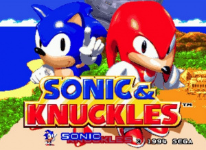 Oldies : Sonic And Knuckles